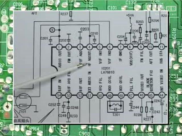 01 彩电维修视频(系统控制电路 维修) 彩电维修视频(高频头 维修技术)