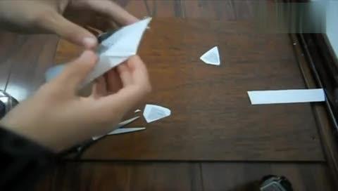 纸飞机折法 夜鹰隐形战机