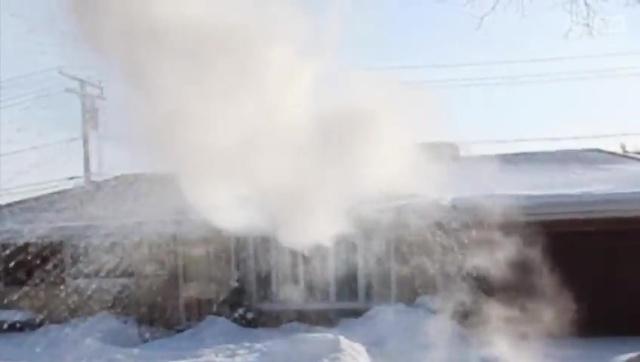 被冰封的芝加哥 美国遭遇罕见极寒