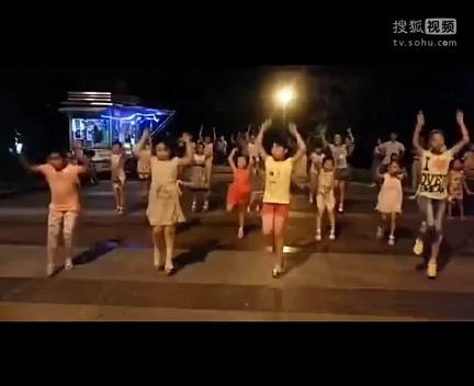 儿童舞蹈《小苹果》小苹果广场舞分解动作小苹果广场