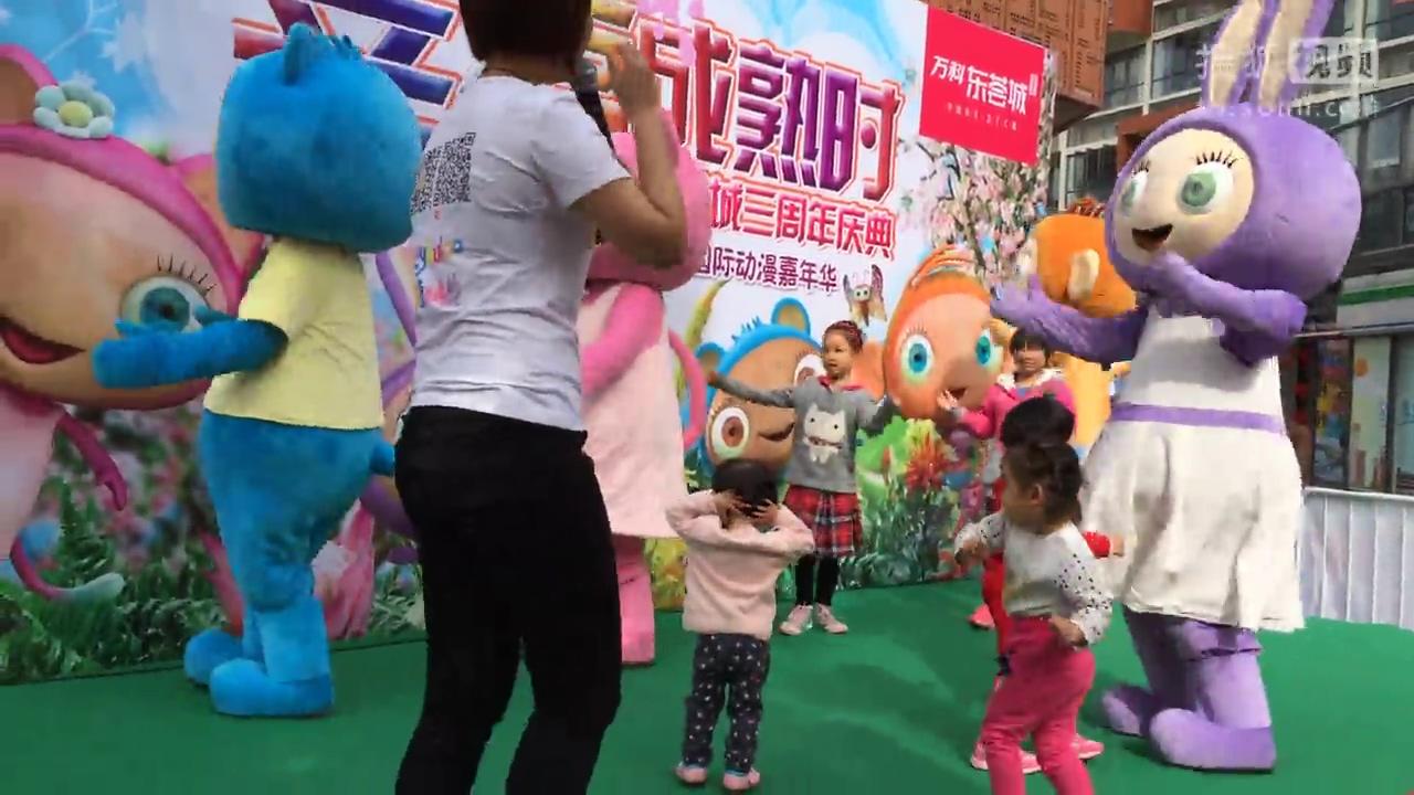 灵教小孩子跳舞