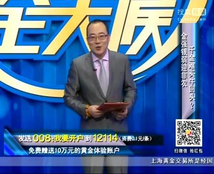 黄金全天候 严为民与你 谈股论金 20140227
