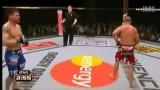 """UFC无限制格斗 2013:UFC日本赛 """"猿人""""席尔瓦飙血逆袭""""美国大兵""""布莱恩-斯坦恩"""