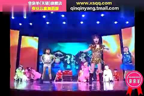 六一儿童节目舞蹈视频大全 现代舞歌曲 童星贺岁 幼儿教学_标清