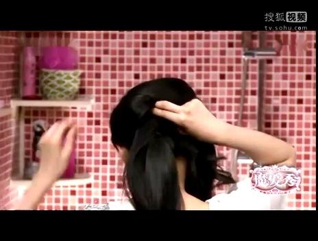 盘发器怎么盘发 儿童盘发