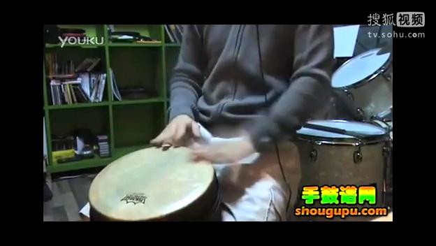 非洲鼓伴奏教学im yours 手鼓谱网