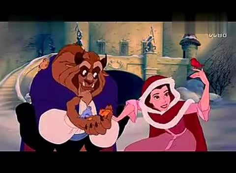 迪士尼电影美女与野兽