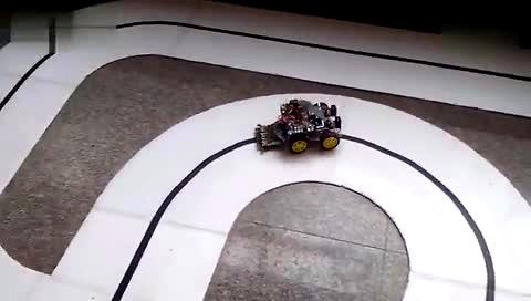 基于stm32智能循迹小车