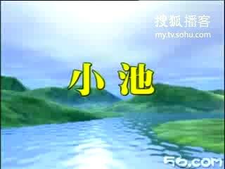 古诗100首之21 小池 杨万里_华年_新浪播客图片