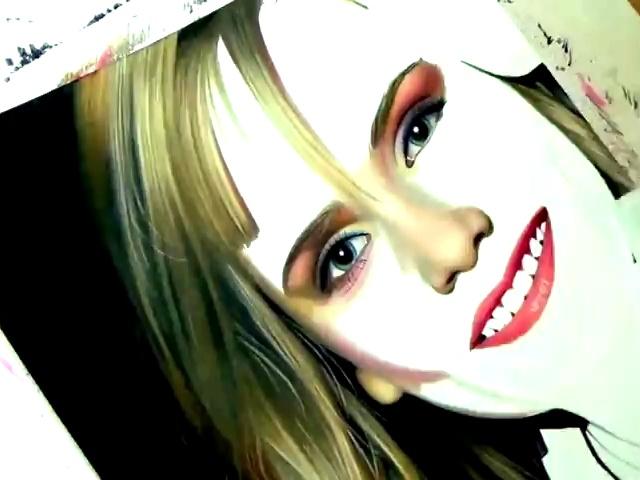 美少女铅笔画教程-360视频搜索
