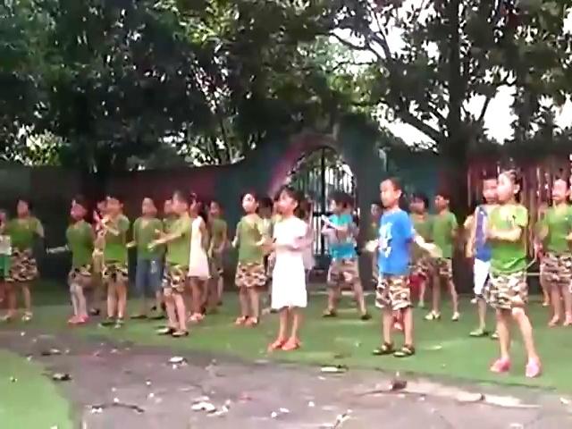 儿童舞蹈 小苹果 g