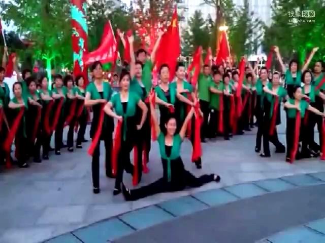 辽阳家乐福广场舞队-共圆中国梦
