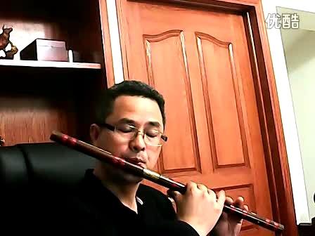 乌苏里船歌---笛子演奏