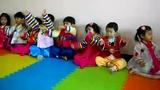 贝佳树幼儿园的奥尔夫音乐律动《风筝与蜗牛》