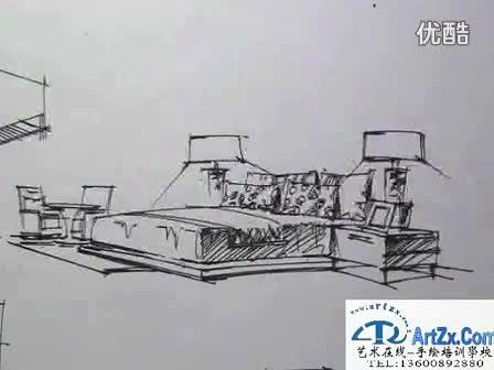 华中师范大学建筑手绘