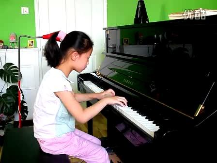 武之婷 庆翻身 钢琴曲 七岁