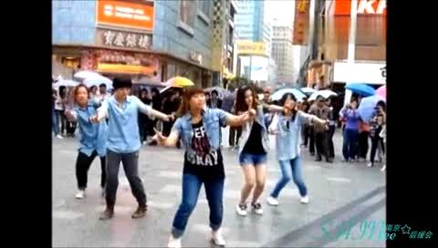 Sherlock 四周年纪念 南京快闪 饭制版-SHINee 模仿翻唱