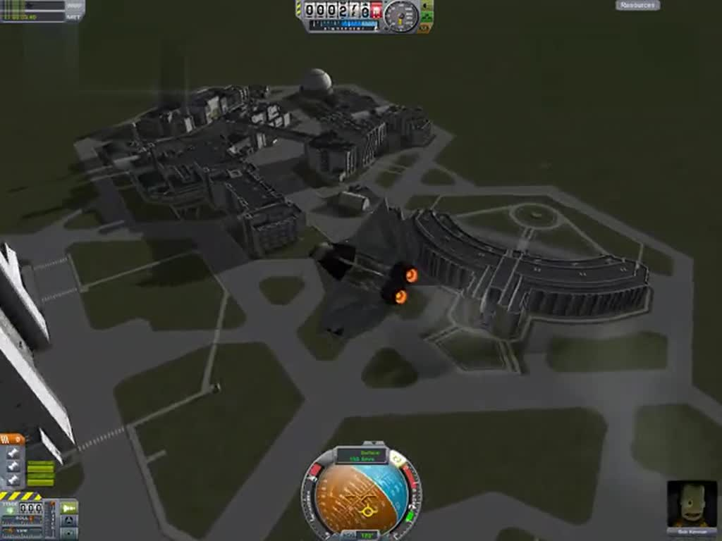坎巴拉太空计划 金刚石垂直起降飞机