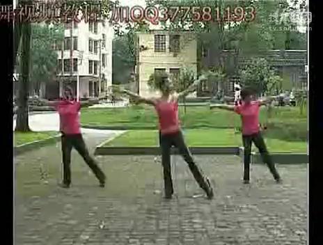 广场舞又见山里红春英广场舞印度美女