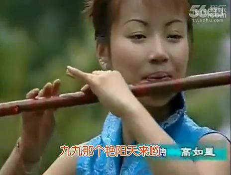 笛子独奏曲 九九艳阳天