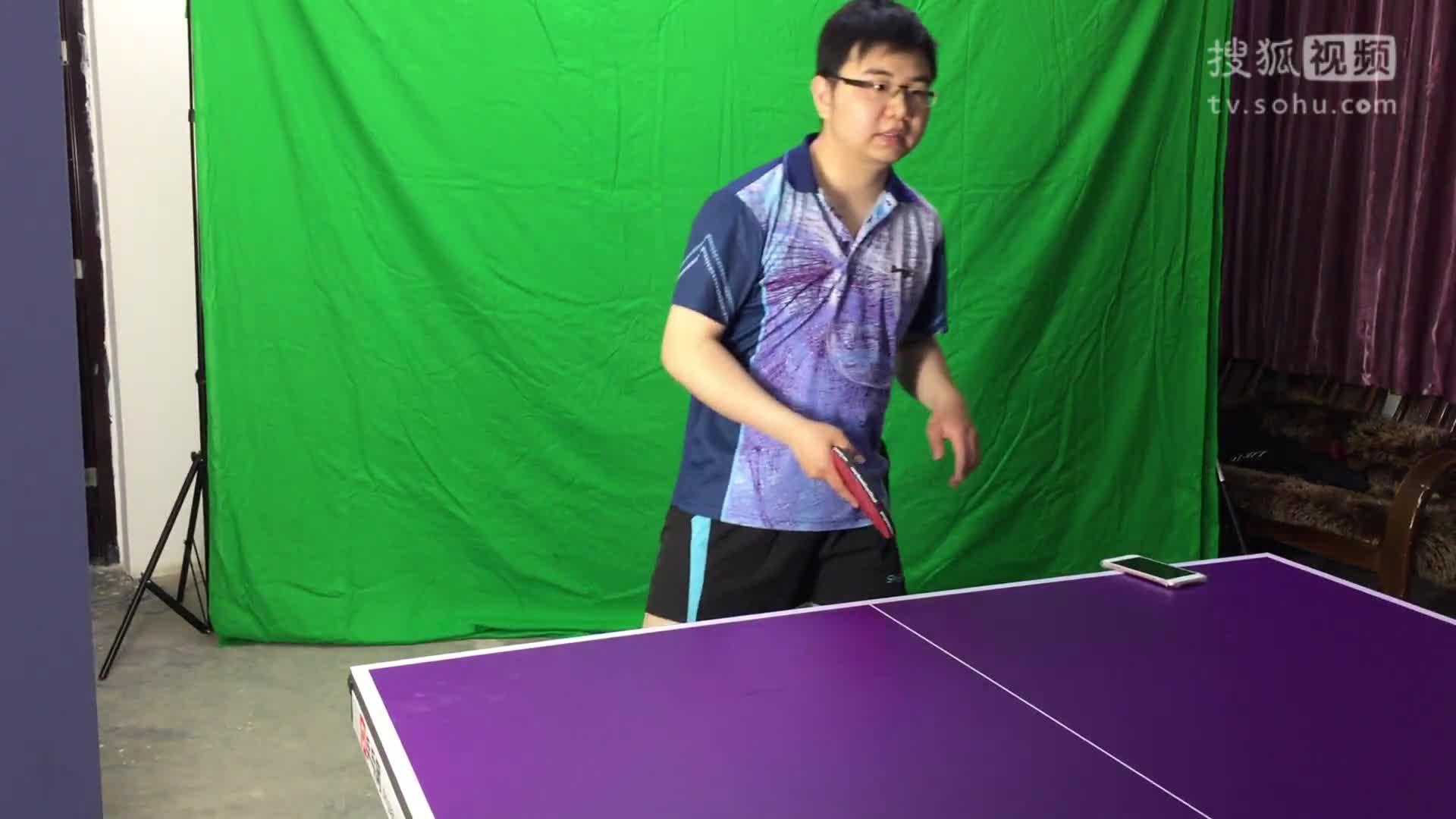《乒乓网私人教练》手腕的鞭打式发力,先学会甩皮鞭!