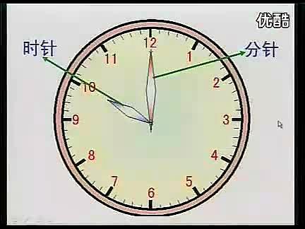 實驗教科書一年級數學上冊8 認識鐘表